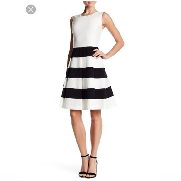 Nine West Dresses & Skirts - Nine West Sleeveless Stripe Dress Sz 12